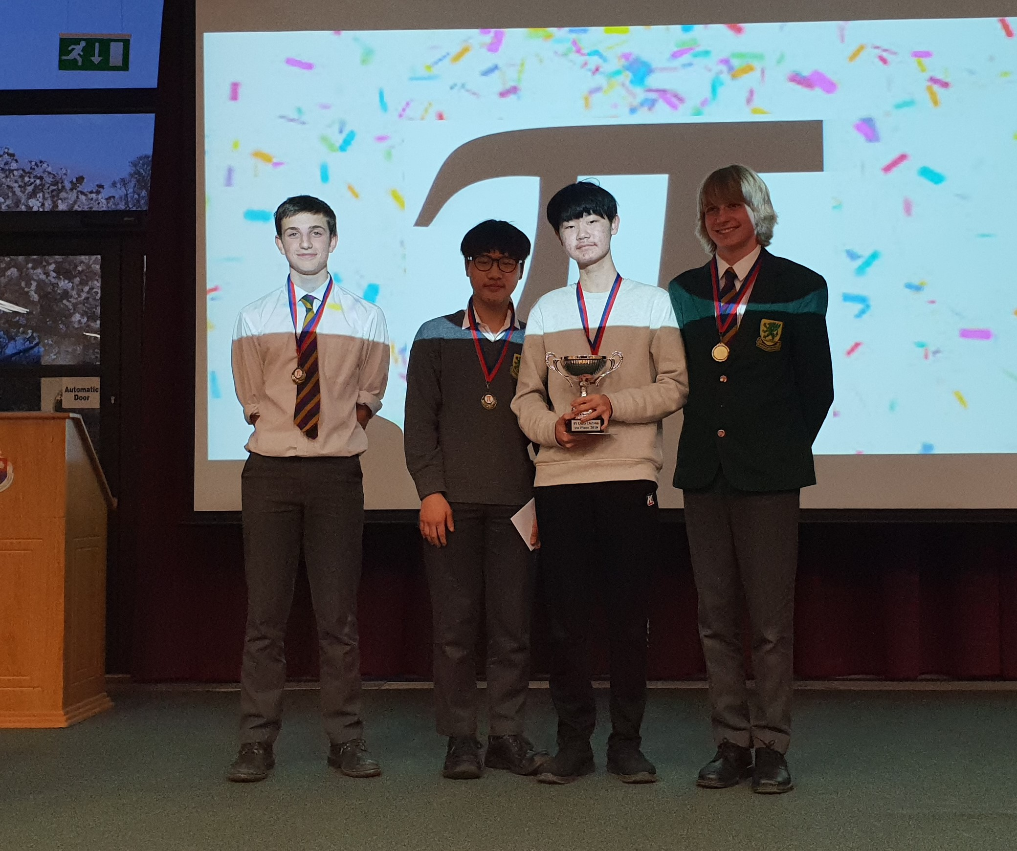 Dublin 2018 Winners: Sandford Park School